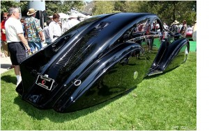 1925 Rolls Royce Phantom I Aerodynamic Coupe, rear