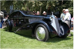 1925 Rolls Royce Phantom I Aerodynamic Coupe