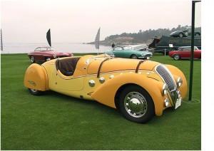 1938 Peugeot 402 Pourtout Dar'Lmat Roadster