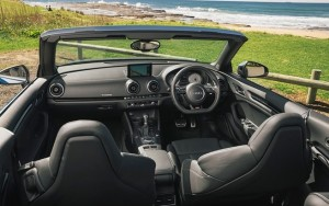 Audi S3 Cabriolet interior